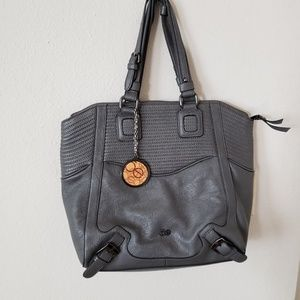 Oxford color tote